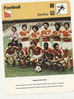 N  1216 BENFICA 1978     Edition Rencontre (annee Vers 1977/78) - Tarjetas
