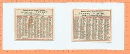 Petit Calendrier 1929 / Quimper / Samuel PIRIOU - Calendriers