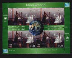 UNO - Wien - Block Mi-Nr. 3 Klimawandel Gestempelt - Wien - Internationales Zentrum