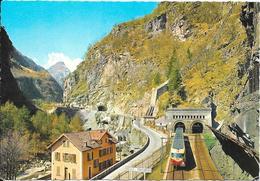 ISELLE DI TRASQUERA - Entrée Du Tunnel Du Simplon - Italia