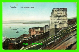 GIBRALTAR - THE MOORISH CASTLE - ANIMATED WITH WAR SHIPS - BEANLAND, MALIN & CO - - Gibraltar