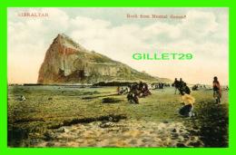GIBRALTAR - ROCK FROM NEUTRAL GROUND - ANIMATED -  V. B. CUMBO - - Gibraltar