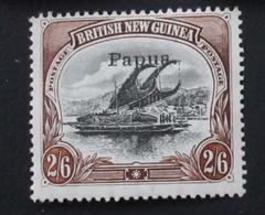 PAPUA 1907 2/6 D Yver 24 (2 Scans) - Papouasie-Nouvelle-Guinée