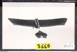 1562 AV103 AK PC CARTE PHOTO LE MONOPLAN GRADE 1910 PHOT. S.A.F.A.R.A. NC TTB - ....-1914: Precursori
