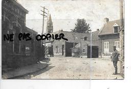 62 GOUY S BELLONNE CARTE PHOTO SOLDATS ALLEMANDS 1914 /1918 - Francia
