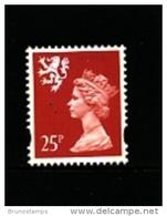 GREAT BRITAIN - 1993  SCOTLAND  25  P.  MINT NH   SG  S84 - Regionali