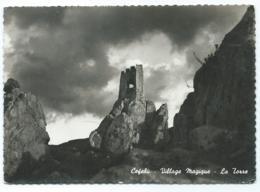 CPSM CEFALU, VILLAGE MAGIQUE, LA TORRE, THE TOWER, LA TOUR, DER TURM, ITALIE - Palermo