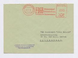 DDR AFS - SCHÖNEBECK, FDGB Kreisvorstand Schönebeck (Elbe) 31.3.62 - Machine Stamps (ATM)