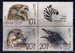 RUSSIE - 5742/5744** - FONDS D'AIDE AUX ZOOS - Ungebraucht