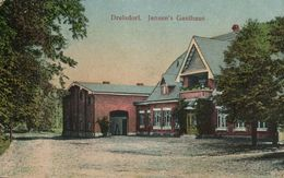 DRELSDORF, Jansen's Gasthaus (1920) AK - Allemagne