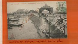 CPA TONKIN  -Quang-Yen Appontement Et Hôtel Clément  Timbre Indo-chine Cachet à Date Hanoï  NOV  2017 333 - Vietnam