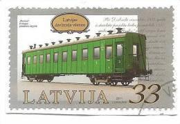 Latvia 2011- Train - Railway History , Lokomotive Ued (0) - Latvia