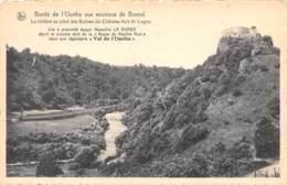 Bords De L'Ourthe Aux Environs De BOMAL - La Rivière Au Pied Des Ruines Du Château-fort De Logne - Durbuy