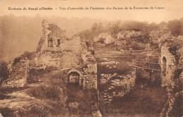 Environs De BOMAL S/OURTHE - Vue D'ensemble De L'intérieur Des Ruines De La Forteresse De Logne - Durbuy