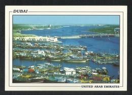 United Arab Emirates Dubai Aerial View Sea Side View Card U A E - Dubai