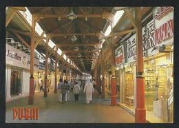 United Arab Emirates Dubai Gold Souk Famous Landmark Dubai Picture Postcard U A E View Card - Dubai
