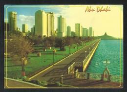 United Arab Emirates Abu Dhabi Cornicher Road Picture Postcard U A E View Card - Dubai