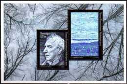 2013 Sweden - Thomas Transtroemer  Write-Literature  Nobel Prize Winner - MS Paper - MNH**  MiNr. 2964 - 2965 (Block 47) - Suède