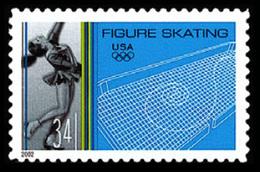 Etats-Unis / United States (Scott No.3555 - Winter Olympics) (o) - Verenigde Staten