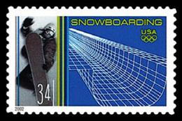 Etats-Unis / United States (Scott No.3553 - Winter Olympics) (o) - Verenigde Staten