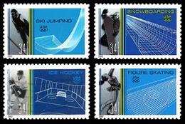 Etats-Unis / United States (Scott No.3552-55 - Winter Olympics) (o) Set - Verenigde Staten