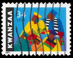 Etats-Unis / United States (Scott No.3548 - Kwanzaa) (o) - Verenigde Staten