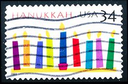 Etats-Unis / United States (Scott No.3547 - Hanukkah 34¢) (o) - Verenigde Staten