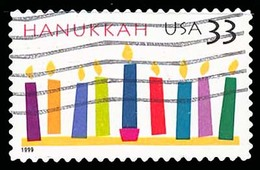 Etats-Unis / United States (Scott No.3352 - Hanukkah 33¢) (o) - Verenigde Staten