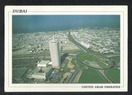 United Arab Emirates Aerial View Trade Centre Famous Landmark Of Dubai Picture Postcard U A E View Card - Dubai