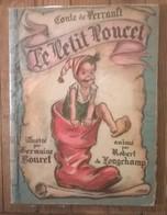 Livre CONTES DE PERRAULT Le Petit POUCET / Longchamp / Germaine Bouret 1948 - Livres, BD, Revues