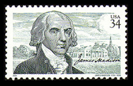 Etats-Unis / United States (Scott No.3545 - James Madison) (o) - Verenigde Staten