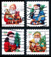 Etats-Unis / United States (Scott No.3541-44 - Santa Claus) (o) - Verenigde Staten