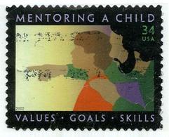 Etats-Unis / United States (Scott No.3556 - Mentoring Child) (o) - Verenigde Staten