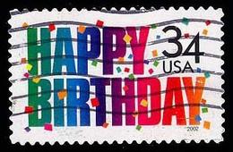 Etats-Unis / United States (Scott No.3558 - Happy Birthday 34¢) (o) - Verenigde Staten
