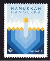 2017 CANADA .  3051, HANOUKKA,   Single From Booklet  MNH - Carnets