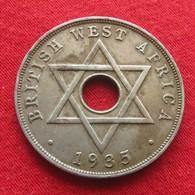 British West Africa 1 Penny 1935 #0  Brits Afrika Afrique Britannique Britanica  #0 W - Autres – Afrique