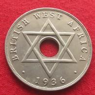 British West Africa 1 Penny 1936 H  Brits Afrika Afrique Britannique Britanica   W - Monnaies