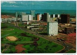 BRASILIA STADIUM STADE ESTADIO  - BRAZIL BRASIL STAMP 1975 (2 SCANS) - Brasilia