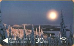 Finland - GPT, 11FINA, Winterview From Koli, Winter, Landscape, 100,000ex, 9/92, Used - Finland