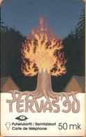 Finland - GPT, 2FINB, Tervas 1990, Scouting, 50mk, 25,000ex, 5/90, Used - Finland
