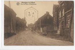 MONTIGNY LE TILLEUL RUE DE MONT S/MARCHIENNE - Montigny-le-Tilleul