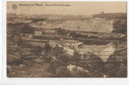 MONTIGNY LE TILLEUL GARE ET USINE MARBRAGGLO - Montigny-le-Tilleul
