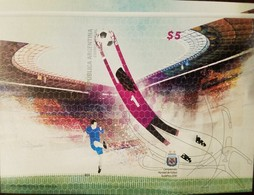 O) 2010 ARGENTINA, IMPERFORATE PROOF, WORLD SOCCER SOCCER CHAMPIONSHIP SOUTH AFRICA, FOOTBALL -SPORT-STADIUM- AFA,MNH - Unused Stamps