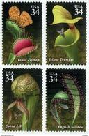 Etats-Unis / United States (Scott No.3528-31 - Plantes Carnivores / Carnivorous Plants) (o) - Verenigde Staten