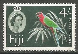 Fiji - 1959 Kandavu Parrot MLH *     SG 308 - Fiji (...-1970)