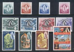Bahrain 1966 Pictorials, Bahrain Postal Administration MUH - Bahrain (1965-...)