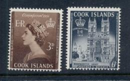 Cook Is 1953 Coronation MUH - Cook Islands