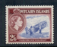 Pitcairn Is 1957 QEII Pictorial Launching New Whaleboat 2/6d MUH - Pitcairn Islands