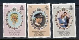 Pitcairn Is 1981 Royal Wedding Charles & Diana - Pitcairn Islands