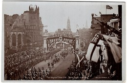 Threir Majesties Visit Prince Street Edinburgh - Midlothian/ Edinburgh